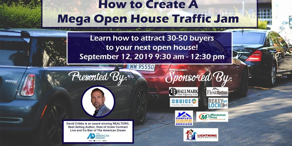 Mega Open House Traffic Jam Tickets, Thu, Sep 12, 2019 at 9