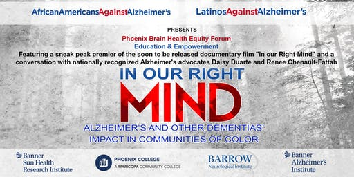 PHOENIX BRAIN HEALTH EQUITY FORUM