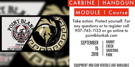 Carbine Handgun Mod 1 Course tickets