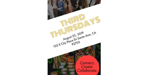 Third Thursdays - Summer Soirée Networking Mixer
