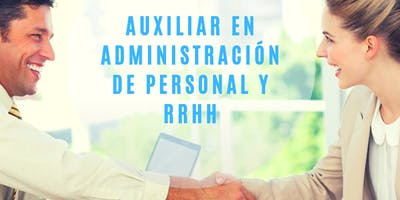 Auxiliar de Administración de Personal y Recursos Humanos