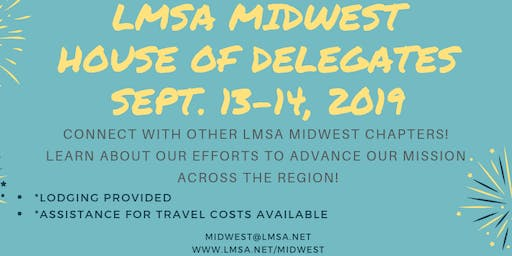 LMSA Midwest House of Delegates Meeting 2019