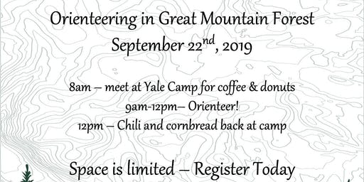 Orienteering in Great Mountain Forest