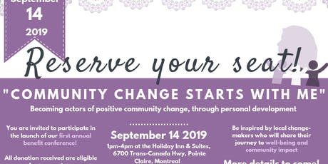 Community Change Starts with Me  tickets