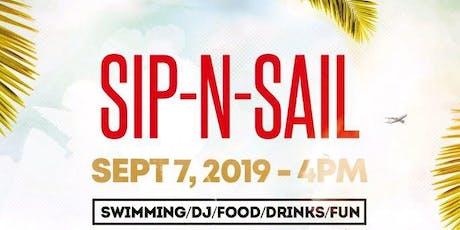 Sip N Sail tickets