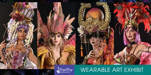 THE GARDEN FAIRIES PRESENT: Bay-2-Bay Wearable Art Exhibit - Symposium & Fashion Gala