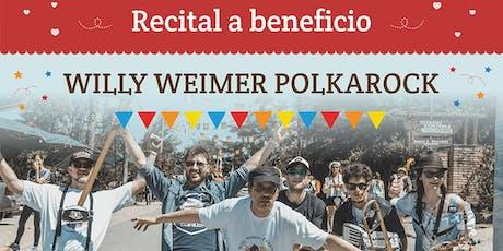 Recital Willy Weimer Polkarock a beneficio del Hogar de Niños María Luisa entradas