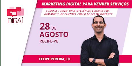 Palestra Marketing Digital para Vender Serviços - ABA ingressos