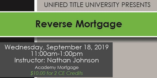 Colorado Springs -  Reverse Mortgage