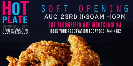 HOT PLATE SOUTHERN KITCHEN SOFT OPENING  tickets