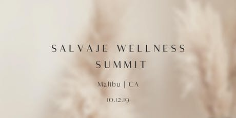 Salvaje Wellness Summit tickets