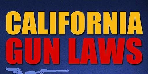 Free CA Gun Laws Seminar