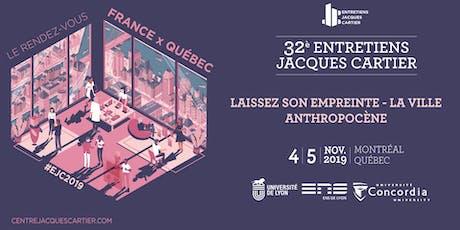 Laissez son empreinte - La ville anthropocène - Jour 2 tickets
