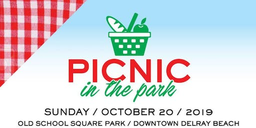 1st Annual Picnic-in-the-Park! Delray Beach's Own International Food & Costume Picnic