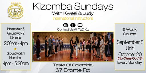 Kizomba Dance Lessons In Oakville With Kwesi & Judy