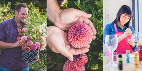 Firstfruit Gardens: Fall Flower Arranging + Vase or Glass Painting! tickets