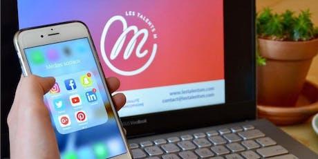 Stratégie organique sur les médias sociaux billets