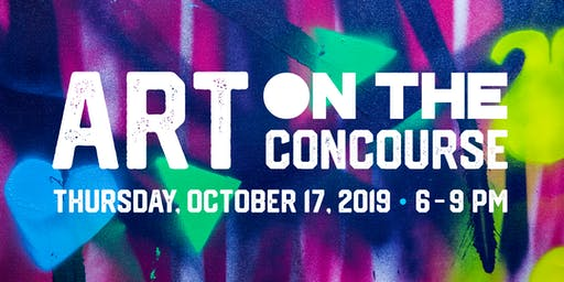 ART ON THE CONCOURSE | Art Show, Benefit Auction & Pop-Up Shop