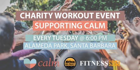 Charity Workout Event Supporting CALM tickets