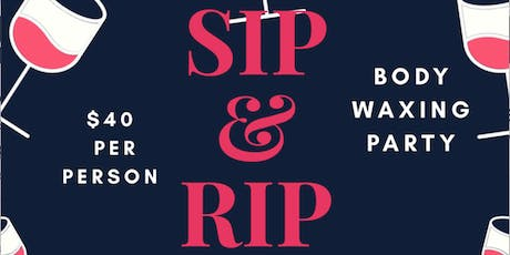 Expressionz of Perfection Sip & Rip Spa Party tickets