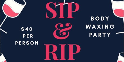 Expressionz of Perfection Sip & Rip Spa Party