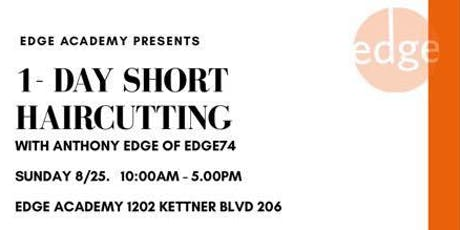 1 Day: SHORT HAIR (Hands on haircutting) tickets