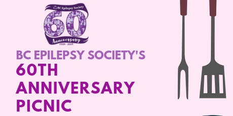 BC Epilepsy Society's 60th Anniversary Picnic! tickets