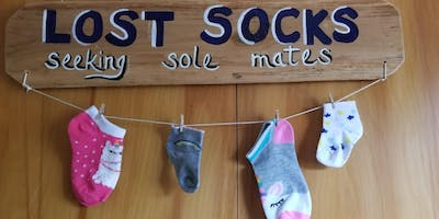 Let's Paint! CREATE YOUR SIGN WORKSHOP:  LOST SOCKS!