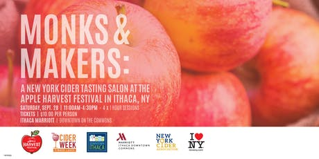 Monks and Makers 2019 - A NYS Cider Tasting Salon tickets