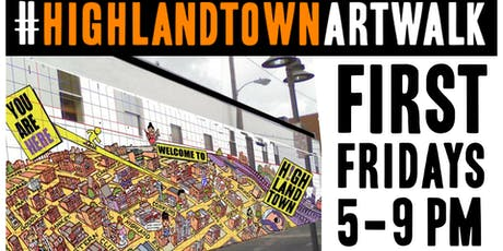 Highlandtown First Friday Art Walk tickets