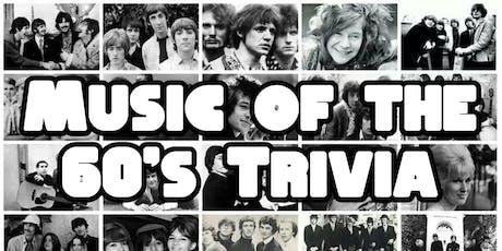 60's Rock Trivia Night @ Montrose Saloon tickets