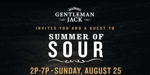 Gentlemen Jacks' Summer Sour Private Event!