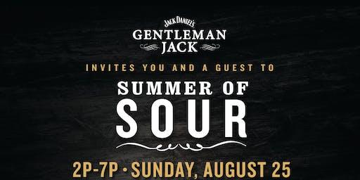 Gentlemen Jacks' Summer Sour Private Event!