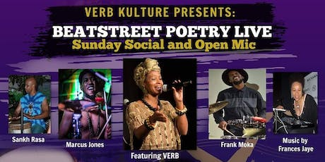Beat Street Poetry hosted by Verb Kulture  tickets