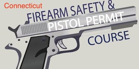 Connecticut Pistol Permit Class September 21st and 28th 2019 (two sessions 4 hours each) tickets