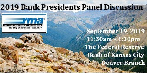 2019 Bank Presidents Panel Discussion