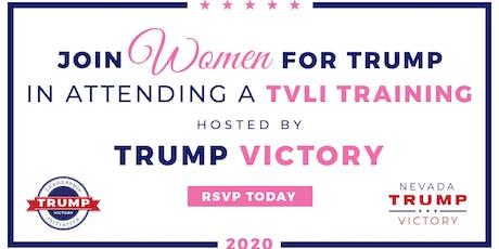 August 22nd- Women for Trump Voter Registration Workshop tickets