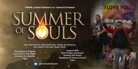 Summer Of Souls - Notting Hill 2019 tickets