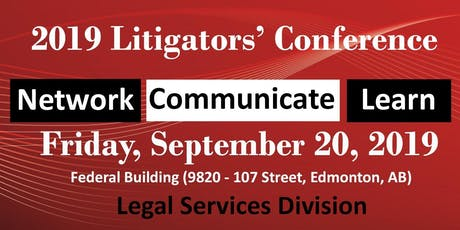 2019 Litigators' Conference tickets