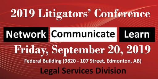 2019 Litigators' Conference