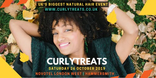 CURLYTREATS 2019 - UK's Natural Afro Hair Show | October 26