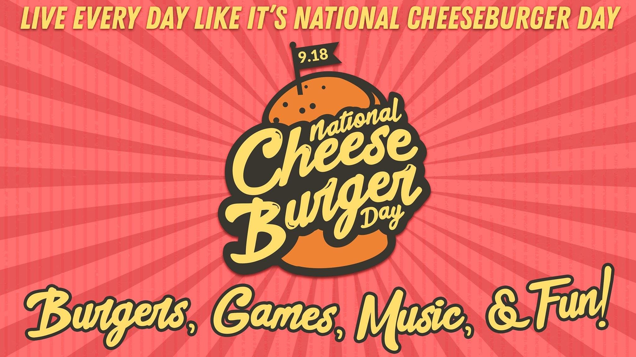 National Cheeseburger Day Celebration