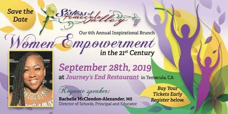 Sisters of Temecula Valley 6th Annual Inspirational Brunch tickets