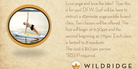 DFW Surf- Floating Yoga Session #1 (6:30-7:15) tickets