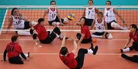 Seated Volleyball