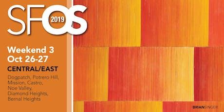 SF Open Studios 2019 - Weekend 3 - Central/East tickets