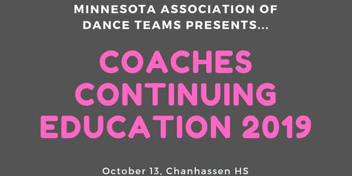 MADT Coaches Continuing Education 2019