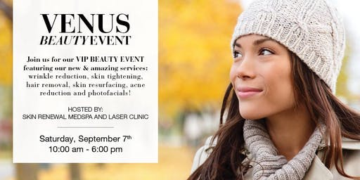 VENUS BEAUTY EVENT