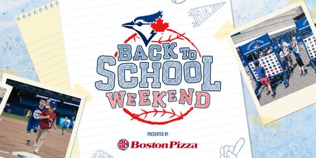 Toronto Blue Jays - Back to School Weekend with Parent Life Network tickets
