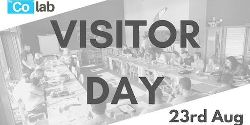 The Co Lab Visitor Day 23rd August
